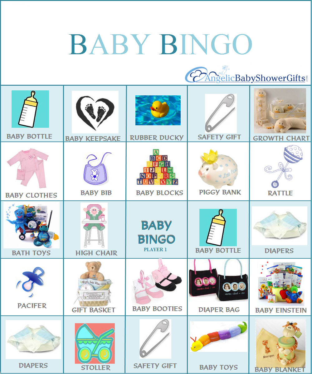 Loteria De Baby Shower: Baby Bumps & Bean Sprouts